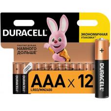 Батарейки пальчиковые Duracell AAA