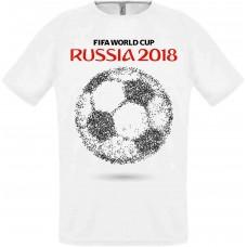 Футболка Fifa 2018 мяч