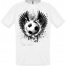Футболка летающий мяч