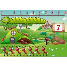Муравьиная поляна - Развивающая игра на липучках